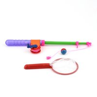 Wholesale High Quality Set Net Kids Children Bath Time Magnetic Fishing Game Toy Rod Fish Model DropShipping
