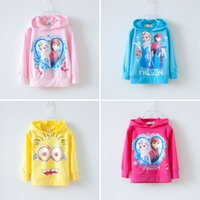 Cheap Frozen Baby clothing Best Children Sweatshirts