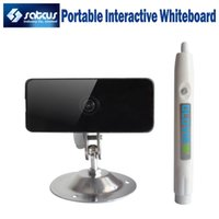 portable electronic whiteboard - NEW Electronic Infrared IR Pen based Portable USB Interactive Whiteboard Educational For School Training Class Projector Partner