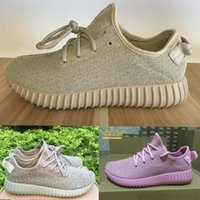 Wholesale Kanye West Yeezy Boost Men s and Womens Running Sneakers Pirate Black Oxford Tan Turtle Dove Moonrock US
