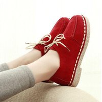 Wholesale 2015 new fall shoes soft bottom single mother shoes Peas shoes shallow mouth soft bottom student comfort slope with low heeled shoes