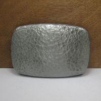 belt buckles blanks - Hot Sale Online Super Cool D Silver blank metal belt buckle Suitable cm cm Wideth Belt classic Man s Best gift