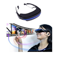 Wholesale Virtual Private Theatre Video Glasses GB quot Virtual Wide Screen Video Glasses Eyewear Mobile Private Theater with AV Input