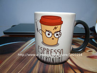 photo mug - ESPRESSO PATRONUM harry potter design custom changing color morphing cool photo coffee mugs tea cups coffee mug porcelain batman