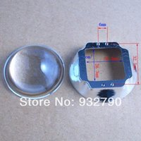 Wholesale 44mm Lens Reflector Collimator with mm Base degree for W W W W W W W W LED Lamp order lt no track