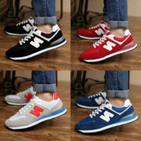 Wholesale New arrival Balance casual sport shoes for men women Sneaker Lovers shoes Running Jogging shoes size Good quality XZ002