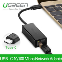 Wholesale Ugreen USB Type C Mbps Lan Adapter External USB to Ethernet High Speed Network Card for Macbook Support Windows