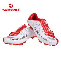 Al por mayor-SIDEBIKE unisex de bicicletas Ciclismo Mountain Bike Racing Athletic Shoes MTB Road Bike Cycling Shoes Nylon TPU soles Envío Gratis