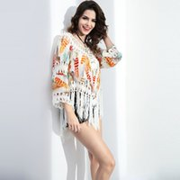 best coat hooks - Best Sellers Sexy beach shirt Womens Sexy Beach Cover shirt bat sleeve short hook size coat B