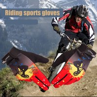 Wholesale Windproof Outdoor Wargame Sports Skiing Full Finger Glove Men Women Cycling Camping Hiking Mountain Bicycle Gloves