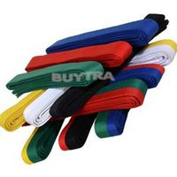 Wholesale 2014 New Fashion Martial Karate Taekwondo Ranking Belt Brand cotton Professional Arts Judo Jiu jitsu Belt
