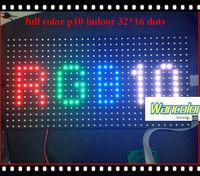 Wholesale p10 indoor LED video display screen RGB indoor p10 led screen module mm for RGB LED Screen