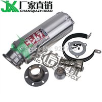 Wholesale EMS FREE Motorcycle Modified for Honda CB400 VTEC CBR400 XJR400 FZR ZZR ZXR ZRX Short exhaust pipe yoshimura mufflers silencers