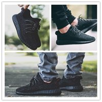 Wholesale Men Womens Original Yeezy Boost Shoes Pink Grey White Black Yakuda Yeezy Red Yeezys Size Sweater Running Leather