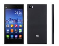2014 Original Xiaomi Mi3 WCDMA Qualcomm Quad Core Xiaomi M3 Teléfono Móvil 2 gb de RAM y 64 GB de ROM 5quot; Miui V5 1080p 13mp Cámara NFC GPS Barco Gratuito