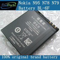 Cheap Rechargeable Battery BL-6F BL6F 1200mAh For Nokia 6788i N95(8G) N78 N79 Bulk Packaging welcome to buy.