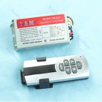 Wholesale Ways ON OFF Digital Remote Control Switch Controller For Light Lamp