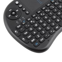 Wholesale Mini Wireless Keyboard G with Touchpad Handheld Keyboard for PC Android TV Black Drop Shipping