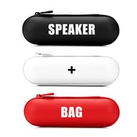 bags stereo speakers - Mini Portable Wireless Stereo Bluetooth Speaker With NFC Function Handsfree for PC iPhone Laptop Samsung with Carrying Bag