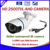 Cheap Mini metal Bullet AHD CCTV Camera CMOS Sensor 2500TVL IR-Cut Filter 960P Indoor Outdoor Waterproof 3.6mm Lens Security Camera