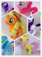applejack pony toy - My Twilight Sparkle Pinkie Pie Applejack Rainbow Dash Rarity Fluttershy little Cute Plush Pony Toys Little Gift