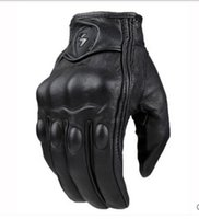 Wholesale New touch screen motorcycle leather gloves Male off road racing protective gloves