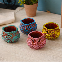 animal art activities - Originality color available resin candle decoration crafts animal owl model Home Furnishing ornaments