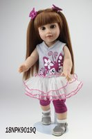 alexander dolls - 18 inch Blonde Long Straight Hair AMERICAN GIRL Dolls Alexander Girl Dolls Toys Soft Girls Gift