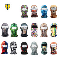 Wholesale Balaclava Outdoor Sport Bicycle Mask Bike Cycling Caps Golf Ski Hat D Headgear Face Mask Hunting Protection Promotion Cool Mask