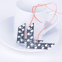 Wholesale Reverse Direction Turn Signal Lamps LED Arrow Car Turning Warning Light Auto LED Decorative Lights PQP0049