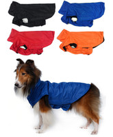 anti static coating - New Arrivals Puppy Dog Apparel Waterproof Raincoat Jacket Clothes Nylon Anti static Plush Cloth Size S XL MA4