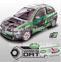 ati workshop - Newest Auto repair software Vivid Workshop data ATI with multi language for Europe cars