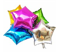 Wholesale Promotion Toy quot Aluminum Foil Balloon for Wedding Birthday Party Star Ballons Festive Decoration Colors