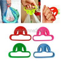 Wholesale 10Pcs New T Shaped Shopping Lifter Hanger Grocery Bags Handle Grips Carrier Holder Tool