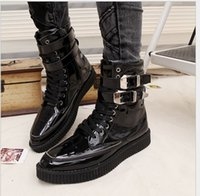Wholesale n the European and American style new men in the spring and autumn season high port Martin boots