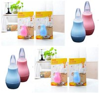 Wholesale Baby Manual Nasal Aspirator Infant Absorption Device Sniffing the Bop Countercurrent Pump Nose Cold Nose Cleaner A575