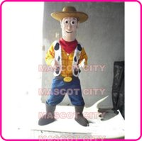 adult woody costume - Anime cosply Costumes Happy Woody Cowboy mascot Adult Toy Story Theme Custom Carnival Fancy Dress Cartoon Party Outfits