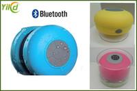 IPX4 altoparlante Doccia subwoofer impermeabile portatile Bluetooth Mini Car Handsfree Ricevi chiamata Musica altoparlanti del telefono di aspirazione