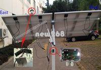 Полная одноосный Электронный контроллер Solar Tracker для отслеживания системной панели RV 100W Вт PV Solar
