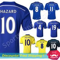 chelsea - Chelsea Jersey Chelsea FC Soccer Jerseys Thai Quality Football Shirt DIEGO COSTA OSCAR FABREGAS HAZARD Chelsea Soccer Wear