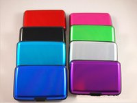 Wholesale Aluminium Credit card holders Wallet cases Bank case aluminum wallet colours Available Hot Sales Card Holders Wallet