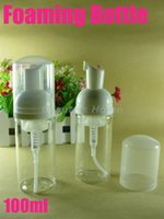 Botella de 100 ml de espumado, bomba de espuma, dispensador de jabón, botella de espuma envío libre # 1060
