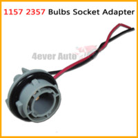 backup light socket - 10pcs A BA15D A BA15D LED Bulb Backup Light Turn Signal Light Socket Harness Plug Adapter Base car