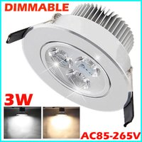 alloy hallway - Dimmable LED Ceiling Light Cabinet Recessed Down Light Lamp Bulb With Driver Casting Aluminum Alloy For Hotel Office Hallway Dining Room