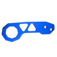 Wholesale New Universal Aluminium Car Auto Rear Trailer Hook Eye Towing Hauling Tool Blue Hot Selling