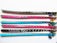 Wholesale fashion pu leather rhinestone pet cat collar