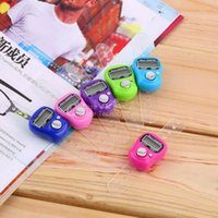 Wholesale Stitch Marker And Row Finger Counter LCD Electronic Digital Tally Counter YKS