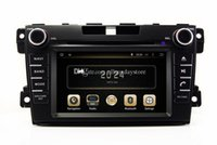 al por mayor dvd gps usb bluetooth del sd-Android 4.4 de coches reproductor de DVD para Mazda CX7 CX-7 2007 a 2.013 con GPS Bluetooth de radio TV AUX USB SD Audio WIFI Stereo