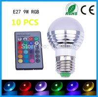 arrival lighting control - FU arrival W RGB led lamp bubble AC85 V E27 Color Magic Color Changing LED RGB Bulb Light IR Wireless Remote Control