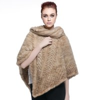 argyle scarf - Lozenge Mink Fur Knit Stunning Cape Shawl with Fringe Hot Sale Real Knitted Mink Fur Cape Women New Mink Fur Shawl Fashion Natural Fur Scarf